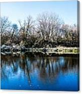 Burnsville Pond Canvas Print