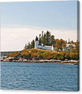 Burnt Island Lighthouse Canvas Print