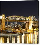 Burrard Bridge Vancouver Canvas Print