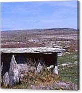 Burren Wedge Tomb Canvas Print