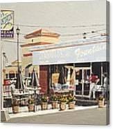 Burr's On Folsom Boulevard Canvas Print