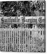 Burying Ground Canvas Print