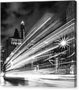 Bus Lights Canvas Print