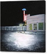 Bus Stop Macon Georgia Canvas Print