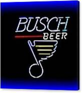 Busch And The Blues Edited Canvas Print