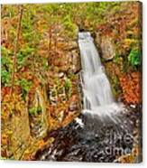 Bushkill Falls Pa Canvas Print