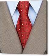 Business Suit Canvas Print