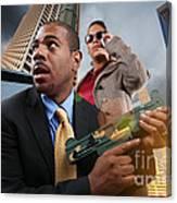 Business War Game Canvas Print
