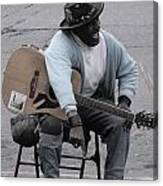 Busker With Style Canvas Print