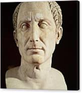 Bust Of Julius Caesar Canvas Print
