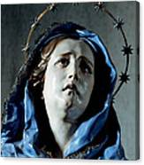 Bust Of Painful Virgin Canvas Print
