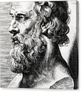 Bust Of Plato  Canvas Print