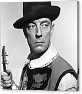 Buster Keaton, Columbia Portrait, Circa Canvas Print