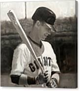 Buster Posey - Quiet Leader Canvas Print