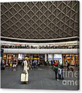 Busy Station Canvas Print