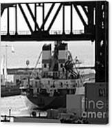 Busy Waterway Canvas Print