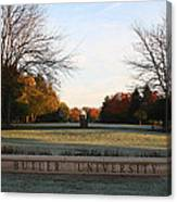Butler University Mall Canvas Print
