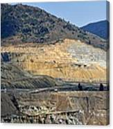 Butte Berkeley Pit Mine Canvas Print