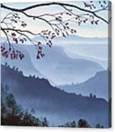 Butte Creek Canyon Mural Canvas Print