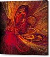 Butterfire Canvas Print