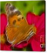 Butterfly-5416-fractal Canvas Print