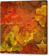 Butterfly Abstract 2 Canvas Print
