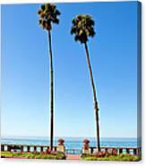 Butterfly Beach, Santa Barbara Canvas Print