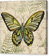 Butterfly Daydreams-a Canvas Print