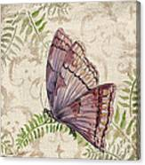 Butterfly Daydreams-b Canvas Print