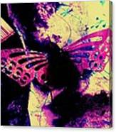 Butterfly Disintegration  Canvas Print