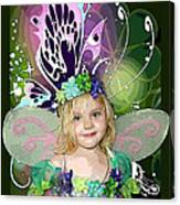 Butterfly Fairy Canvas Print