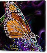 Butterfly Garden 24 - Monarch Canvas Print