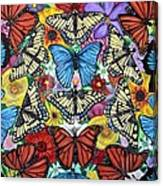 Butterfly Haven Canvas Print
