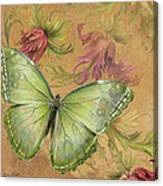 Butterfly Inspirations-a Canvas Print