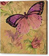 Butterfly Inspirations-d Canvas Print