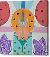 Butterfly Kisses And Ladybug Hugs Canvas Print