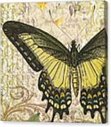 Butterfly Kisses-c Canvas Print