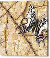 Butterfly Mosaic 01 Elena Yakubovich Canvas Print