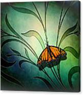 Butterfly Pause V1 Canvas Print