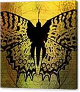 Butterfly Symmetry 2 Canvas Print