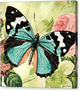 Butterfly Visions-b Canvas Print