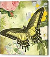 Butterfly Visions-d Canvas Print