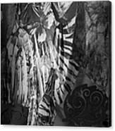 Butterfly Window Canvas Print