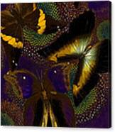 Butterfly Worlds Canvas Print