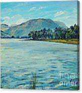 Buttermere Haystacks And Beyond Canvas Print