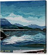 Buttle Lake Canvas Print