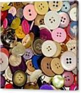 Buttons 671 Canvas Print