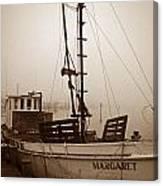 Buy Boat Margaret Canvas Print