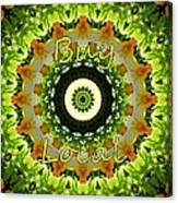 Buy Local Green 1 Canvas Print