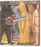 Buzz Bigfoot Canvas Print